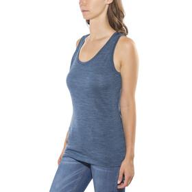 Icebreaker Sphere - Camisa sin mangas Mujer - azul